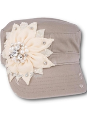 Olive & Pique Blinged Flower Cap - Product Mini Image