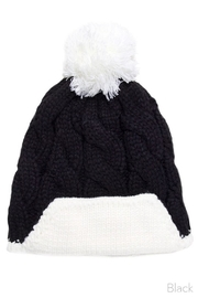 Olive & Pique Cable Knit Beanie - Front cropped