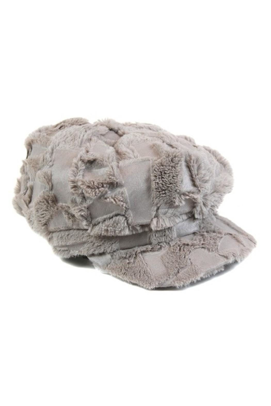 Olive & Pique Cool Texture Hat - Front Cropped Image