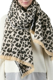 Olive & Pique Leopard Scarf - Product Mini Image