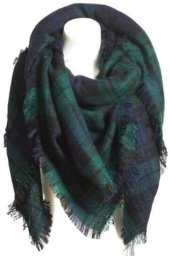 Shoptiques Product: Navy Blanket Scarf