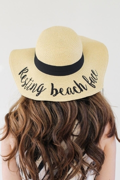 Olive & Pique Resting Beach Face Hat - Product List Image