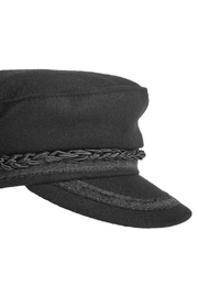 Olive & Pique Sailor Style Cap - Front full body