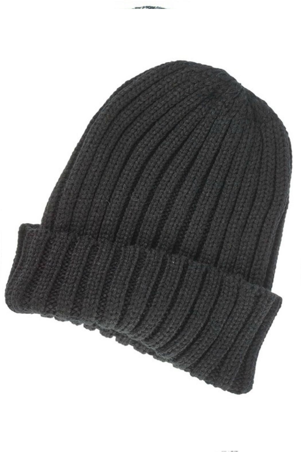 Olive & Pique Thick Ribbed Toque - Main Image