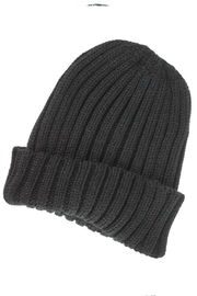 Olive & Pique Thick Ribbed Toque - Front cropped