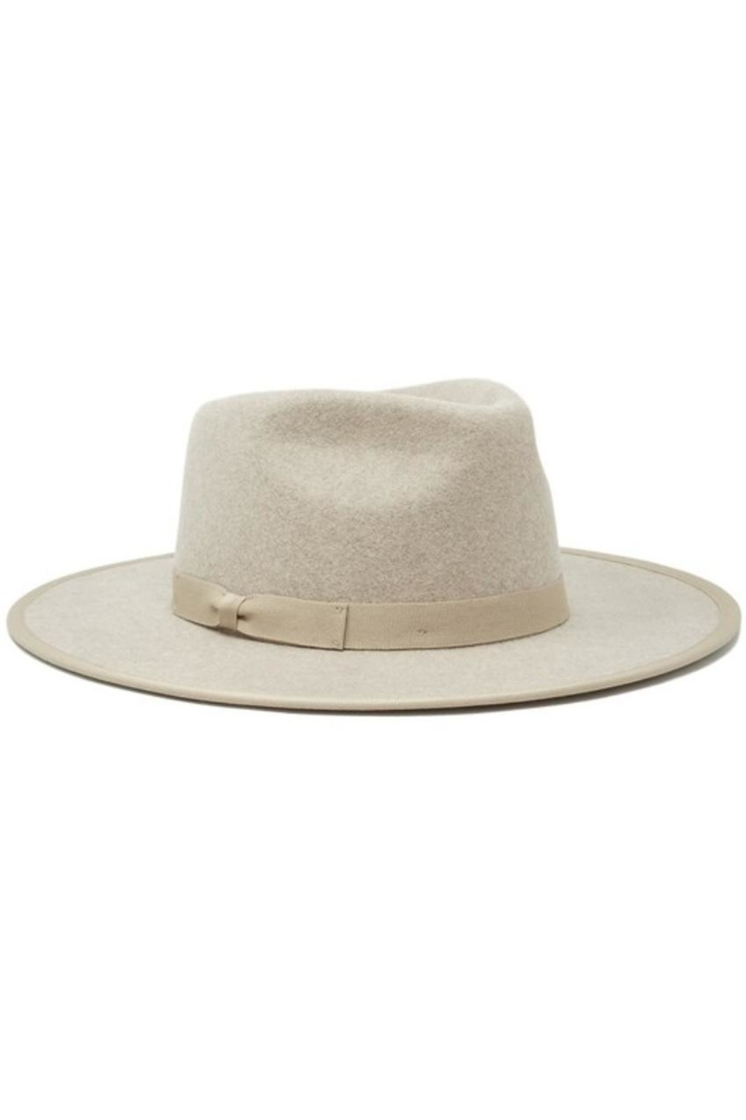 olive and pique Astoria Wide-Brim Fedora - Front Cropped Image