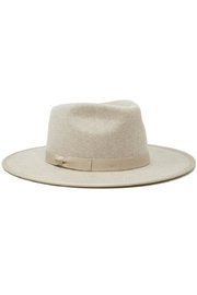 olive and pique Astoria Wide-Brim Fedora - Front cropped