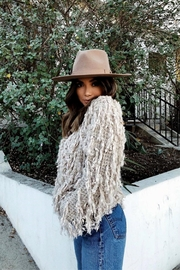 olive and pique Barrymore Rancher Hat - Back cropped