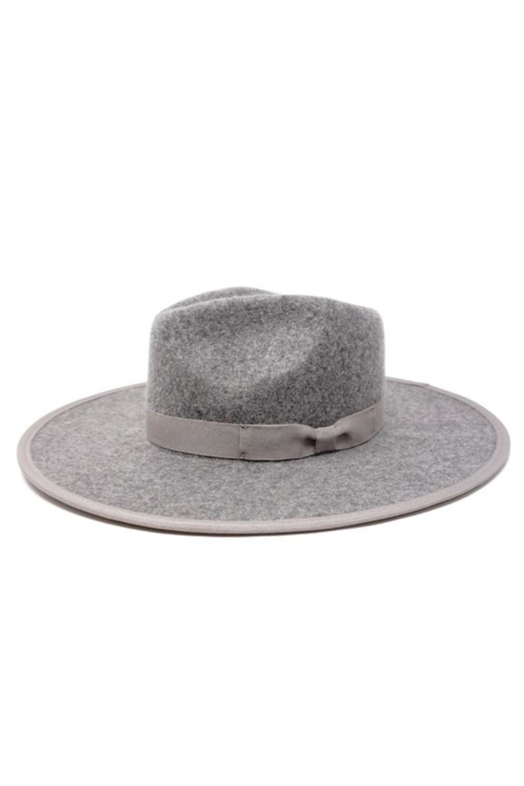 olive and pique Barrymore Rancher Hat - Front Cropped Image