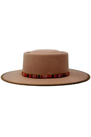 olive and pique Blaise Gambler Hat - Front cropped