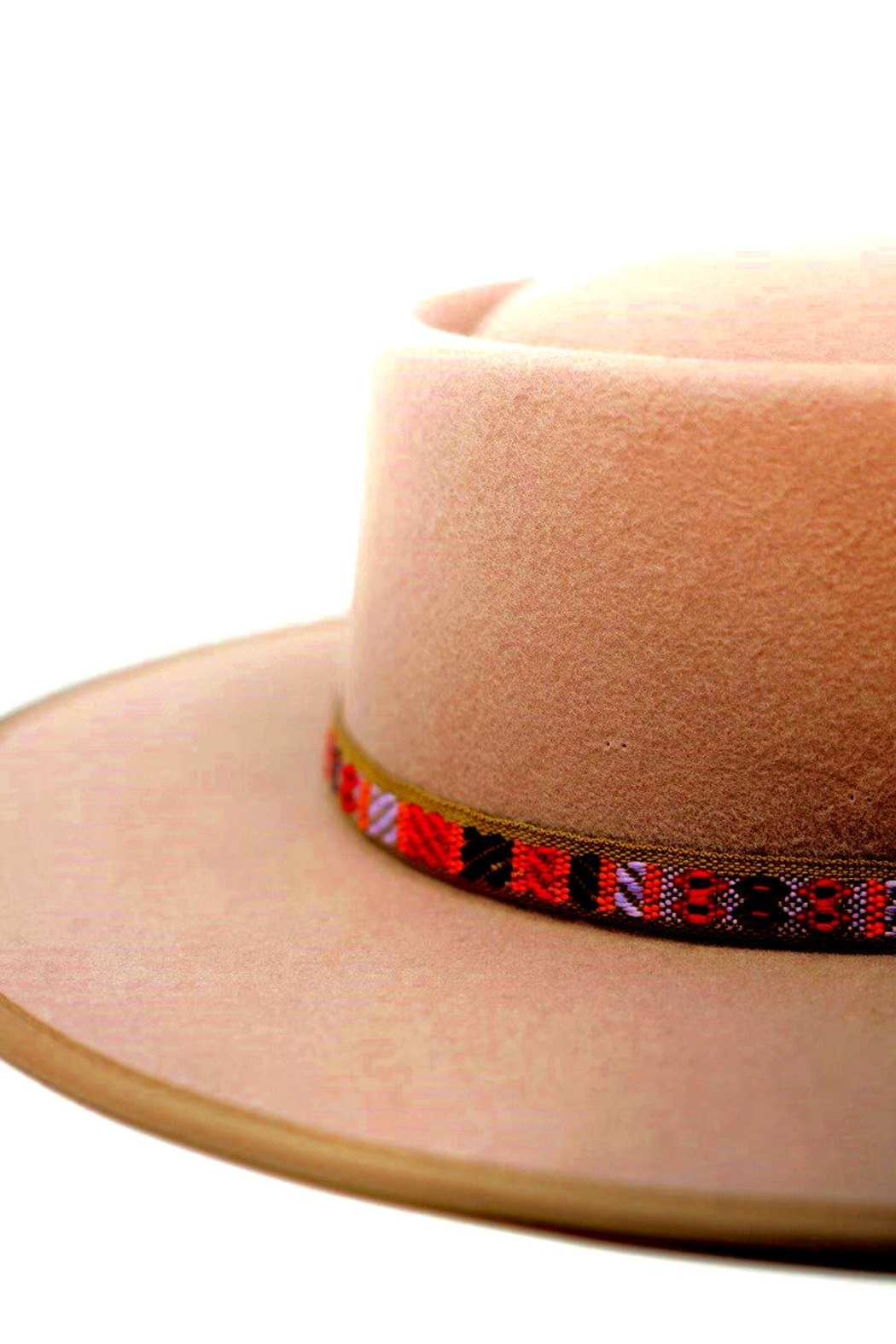olive and pique Blaise Gambler Hat - Front Full Image