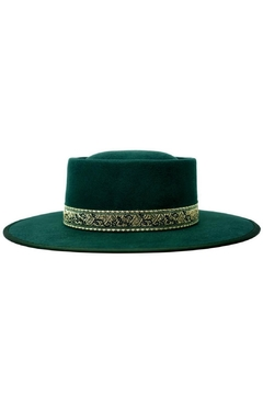 olive and pique Mason Gambler Hat - Product List Image