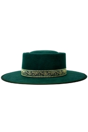 olive and pique Mason Gambler Hat - Front cropped