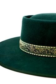 olive and pique Mason Gambler Hat - Front full body
