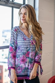 Olive Hill Colorful Floral Blouse - Product Mini Image