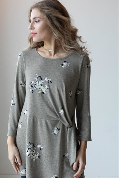 Olive Hill Embroidered Knit Tunic - Alternate List Image