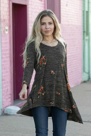 Olive Hill Embroidered Knit Tunic - Product Mini Image