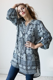 Olive Hill Indigo Hi-Lo Tunic - Product Mini Image