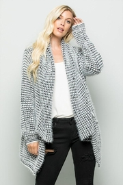 Olive Scent Shawl Collar Cardigan - Product Mini Image