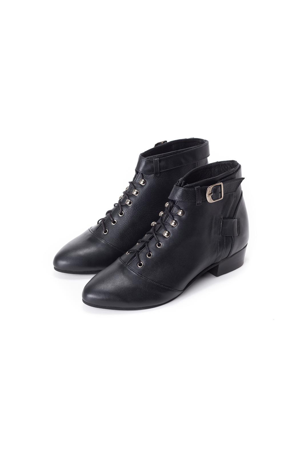 Olive Thomas Black Pixie Boots from Tel