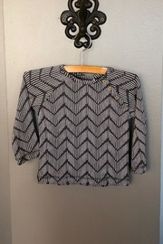 Oliver & Rain  Chevron Top - Organic - Front cropped