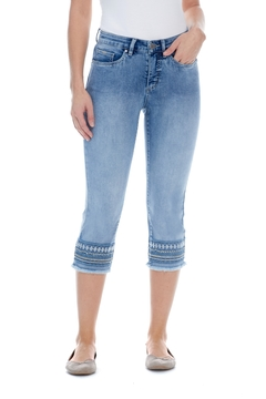 FDJ Jeans  Olivia Capri With Bling - Product List Image