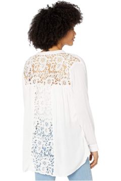 Bishop + Young Olivia Crochet Blouse - Product List Image