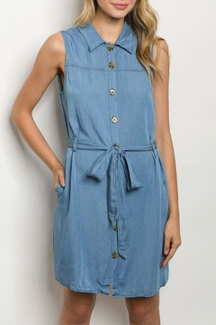 Shoptiques Product: Denim Chambray Dress