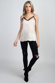 Olivia Graye Cami with Lace Trim - Front cropped