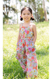 Mimi and Maggie Olivia Long Romper - Front cropped