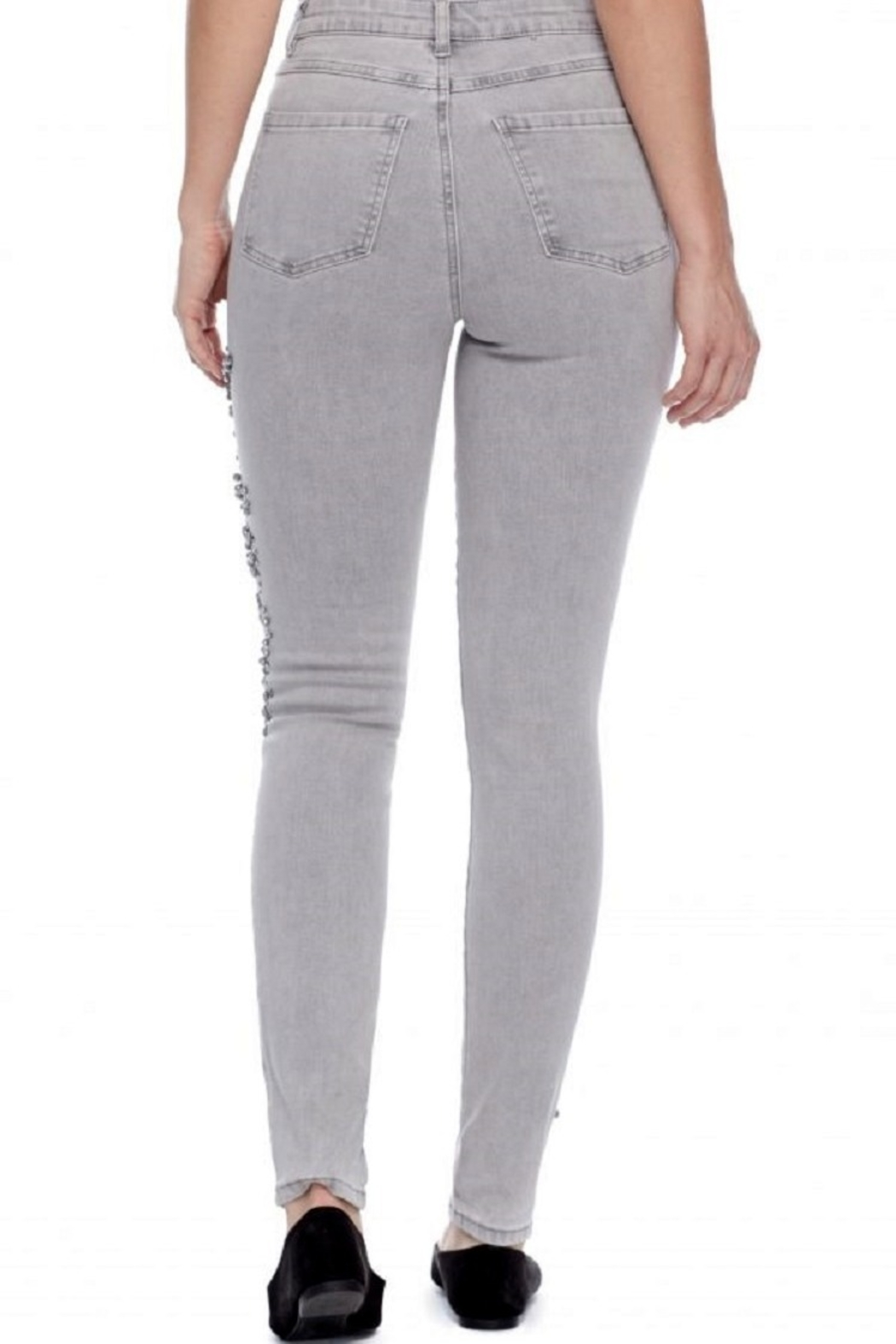 French Dressing Jeans Olivia Pearled Jeans - Side Cropped Image