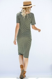 My Story Olivia Striped Dress - Side cropped