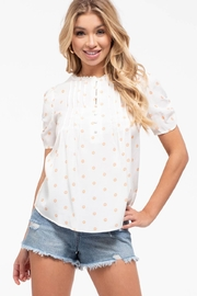 E & M Olivia Top - Front cropped