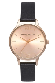 Olivia Burton Gold Sunray Watch - Front cropped