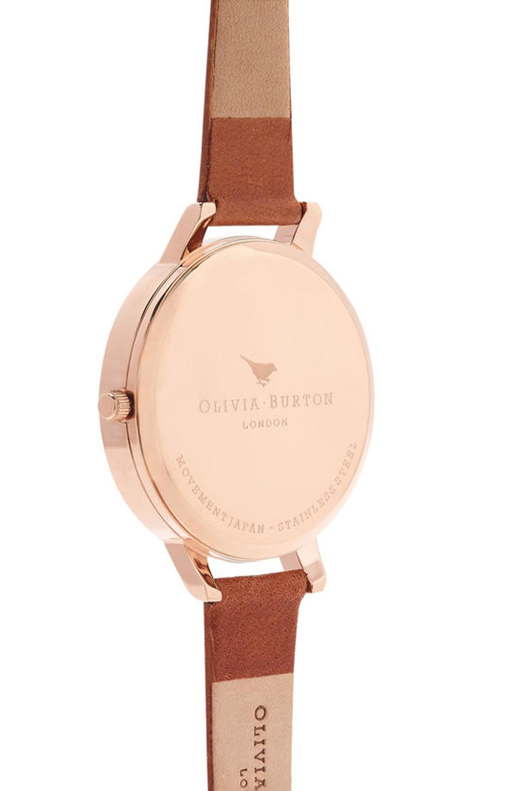 Olivia Burton Rose Gold Watch - Side Cropped Image