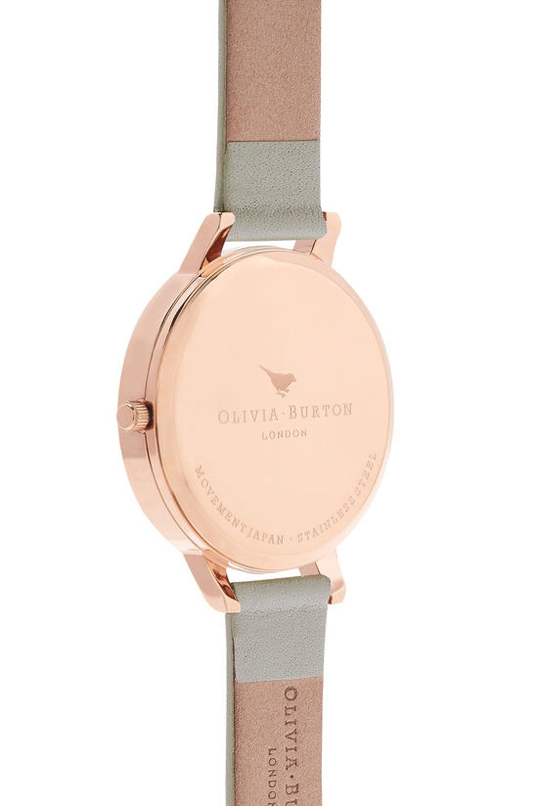 Olivia Burton White Dial Watch - Side Cropped Image