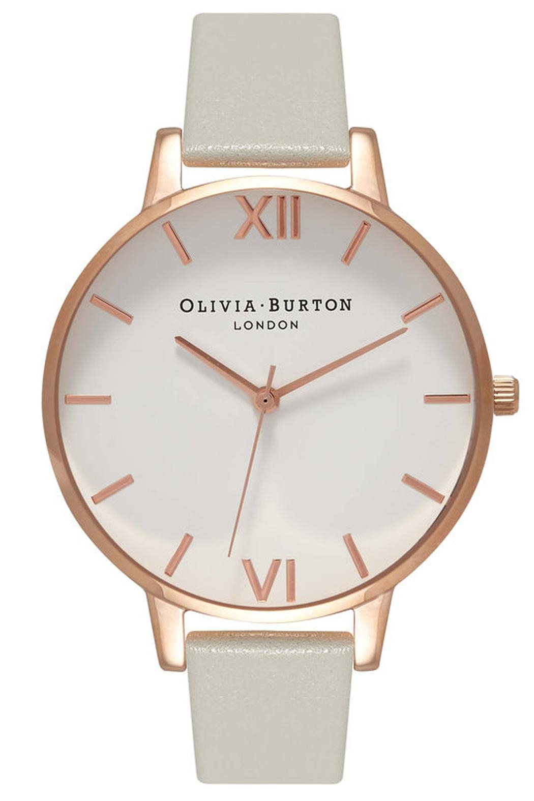 Olivia Burton White Dial Watch - Front Cropped Image