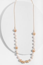 Saachi Olivine Necklace - Front cropped