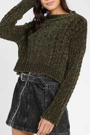 Honey Punch Olvera Chunky-Knit Sweater - Product Mini Image
