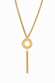 Julie Vos OLYMPIA TASSEL NECKLACE-GOLD - Product Mini Image