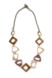 Anju Handcrafted Artisan Jewelry Omala Triangular Necklace - Product Mini Image