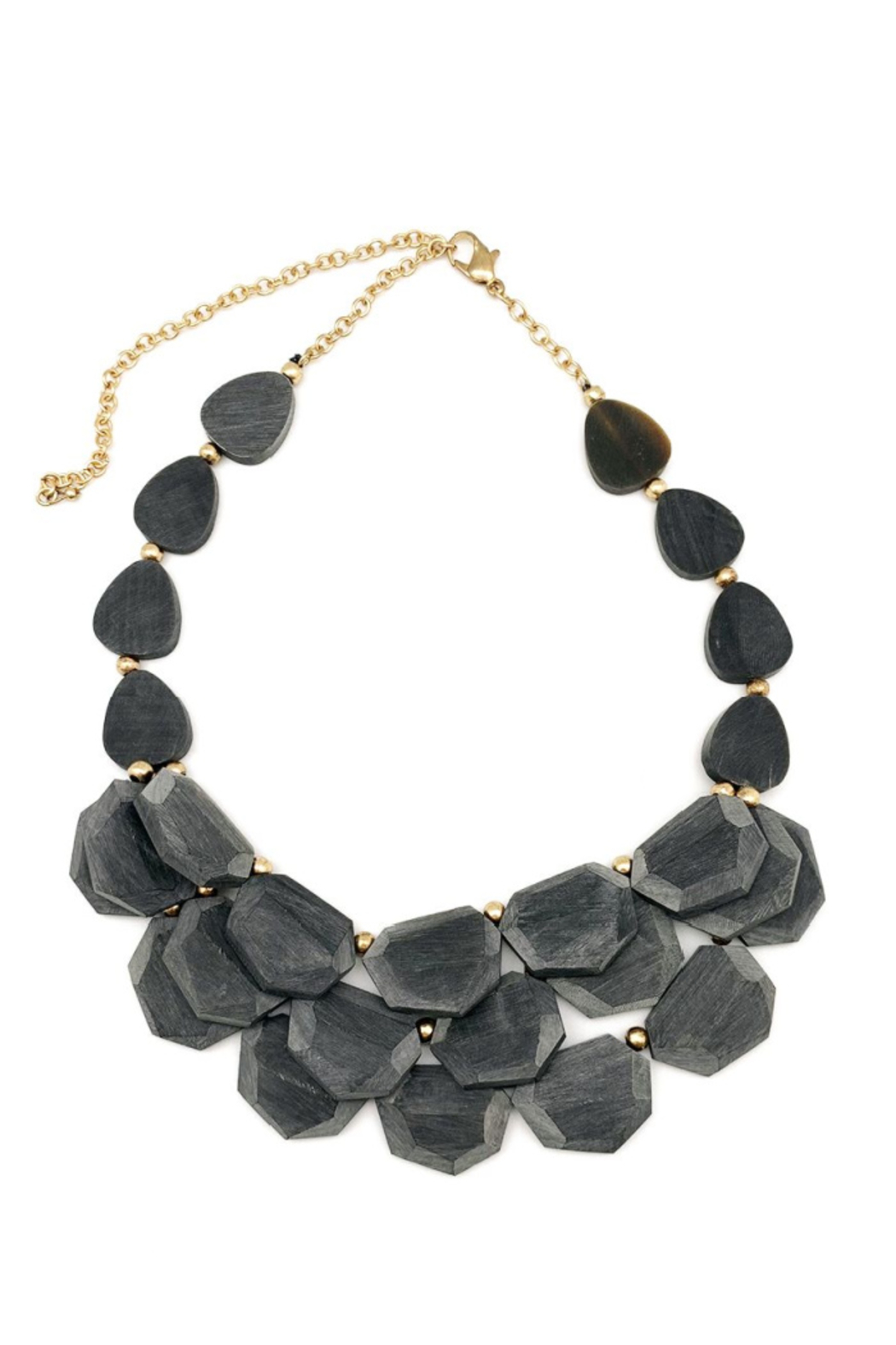 Anju Omala Triple Layer Necklace - Front Cropped Image