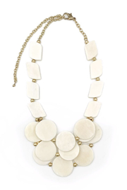 Anju Omala Triple Layer Necklace - Front cropped