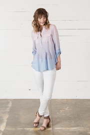 Go Fish Clothing Ombre Blouse - Front full body