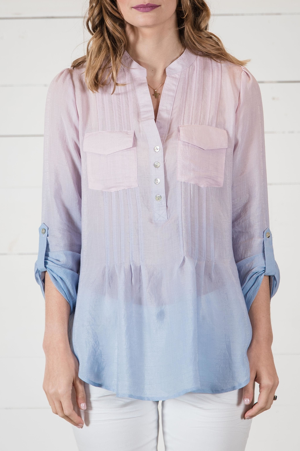 Go Fish Clothing Ombre Blouse - Main Image