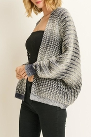 Le Lis Ombre Cardigan - Front full body