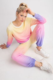 R+D emporium  Ombre Cash Sweat Pant - Product Mini Image
