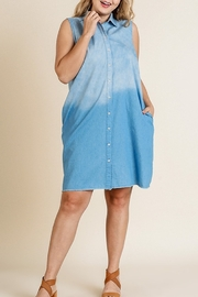 Umgee  Ombre Denim Dress - Product Mini Image