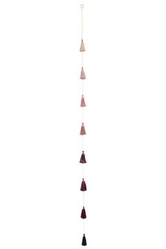 PAPAYA! Ombre-Dusty Rose Tassel - Alternate List Image