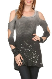 T Party Ombre Dye Top - Product Mini Image